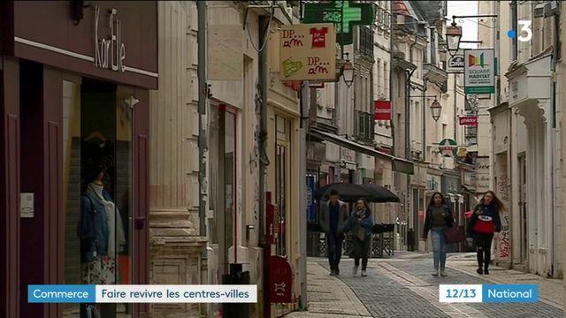 Commerce : faire revivre les centres-villes