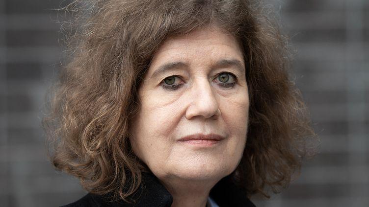 Dominique Simonnot, contrôleure des lieux de privation de liberté, le 20 octobre 2020. (BERTRAND GUAY / AFP)