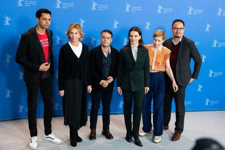 Le Jury de la 69 Berlinale (2019) : Rajendra Roy, Trudie Styler, Sebastin Lelio, Juliette Binoche, Sandra Hueller, Justin Chang  (Manuel Romano / NurPhoto)