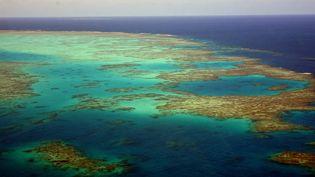 La Grande Barrière de corail au large de l'Etat australien du Queensland, le 25 avril 2018. (IMAGINECHINA / AFP)