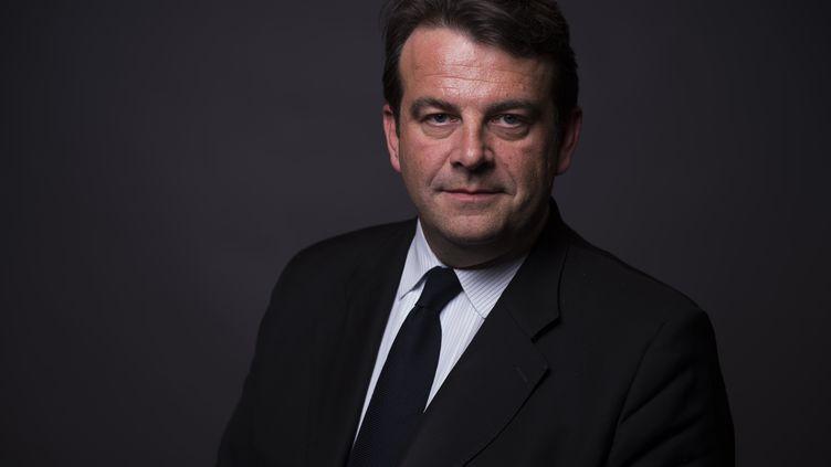 Thierry Solère,députe des Républicains, le 23 mars 2016, à Paris. (MARTIN BUREAU / AFP)