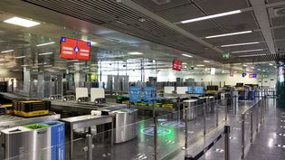 L'aéroport de Rome-Fiumicino(Italie),le 7 juin 2020. (MATTEO TREVISAN / NURPHOTO / AFP)