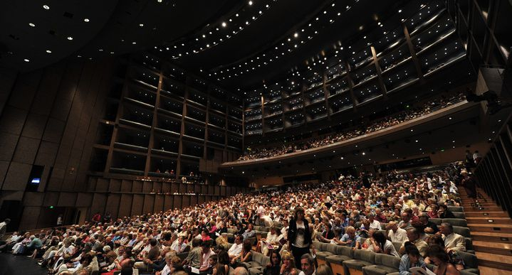 Festival de Radio-France et Montpellier, Opéra Berlioz / Le Corum où se produit Alain Altinoglu le 16 juillet.  (Marc Ginot)
