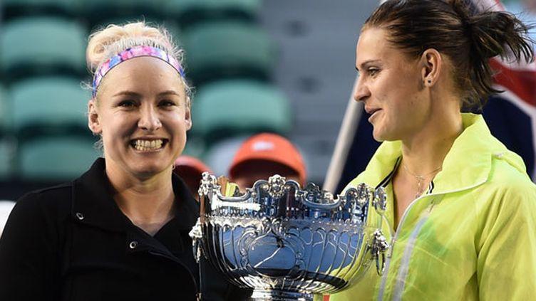La paire Mattek-Sands et Safarova remportent l'Open d'Australie 2015