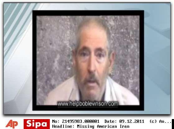 Capture d'écran d'une vidéo où apparaîtRobert Levinson, reçue par sa famille en novembre 2010. ( AP / SIPA )
