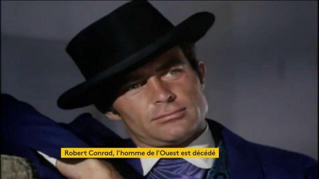 """Star des """"Mystères de l'Ouest"""", Robert Conrad est mort"""