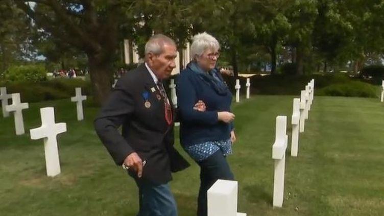 Charles Shay fait partie des vétérans qui assisteront,la semaine du 6 juin, aux commémorations du débarquement en Normandie. (FRANCE 2)