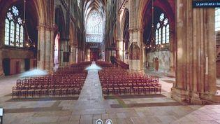 La cathédrale Saint-Etienne de Metz en visite virtuelle durant le confinement (France 3 Grand Est)