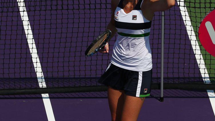 La joueuse tchèque Karolina Pliskova (AL BELLO / GETTY IMAGES NORTH AMERICA)