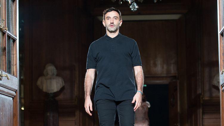 Le créateur Riccardo Tisci, janvier 2017 à Paris  (Getty Images)