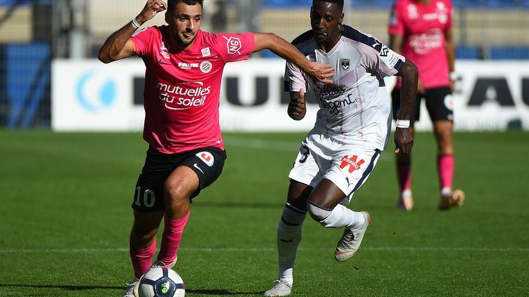 Montpellier s'impose face à Bordeaux (2-0)  (SYLVAIN THOMAS / AFP)