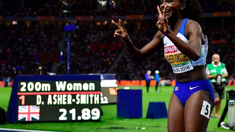 Dina Asher-Smith (TOBIAS SCHWARZ / AFP)