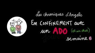 """En confinement avec un ado : """"Les chroniques d'Angelo"""", semaine 6, 26 avril 2020 (Laurence Houot / FRANCEINFO)"""
