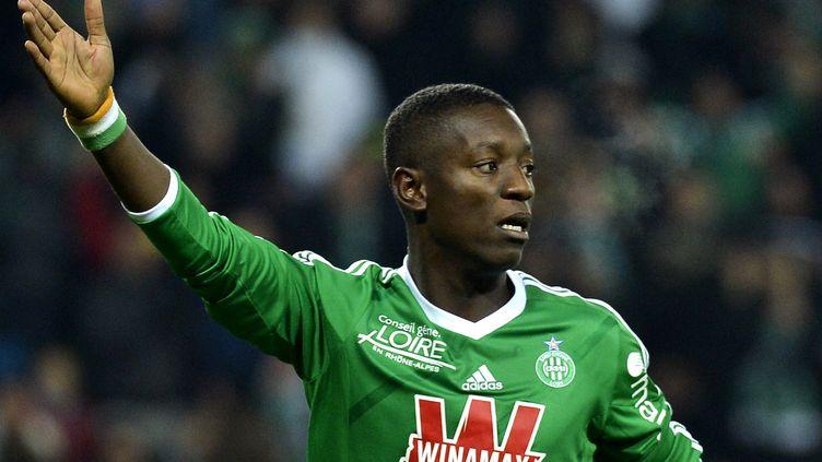 Le joueur de Saint-Etienne Max-Alain Gradel (JEFF PACHOUD / AFP)