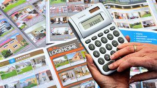 Les taux des crédits immobiliers aux particuliers étaient en recul continu depuis janvier 2012, où ils s'établissaient alors à 4% en moyenne. (PHILIPPE HUGUEN / AFP)