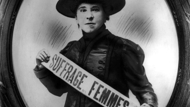 La suffragette Hubertine Auclert (1848-1914). (GETTY IMAGES)