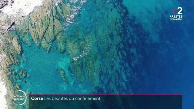Confinement : la Corse transformée en île déserte