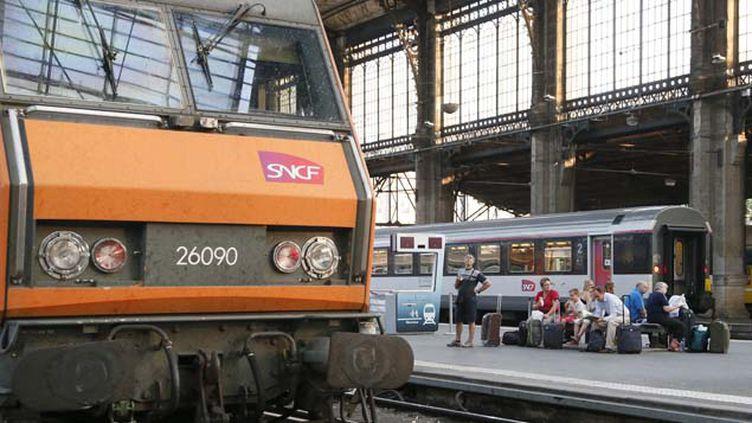 (Les trains intercités desservent quotidiennement plus de 300 destinations en France sur plus de 40 lignes © MaxPPP)