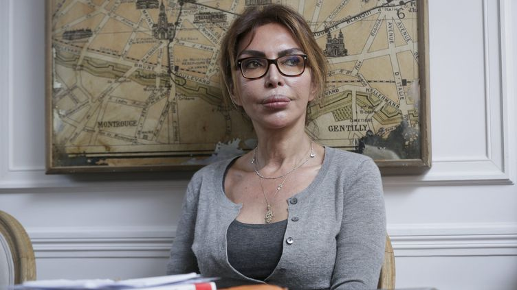 Homayra Sellier, présidente de l'association Innocence en danger. (THOMAS PADILLA / MAXPPP)