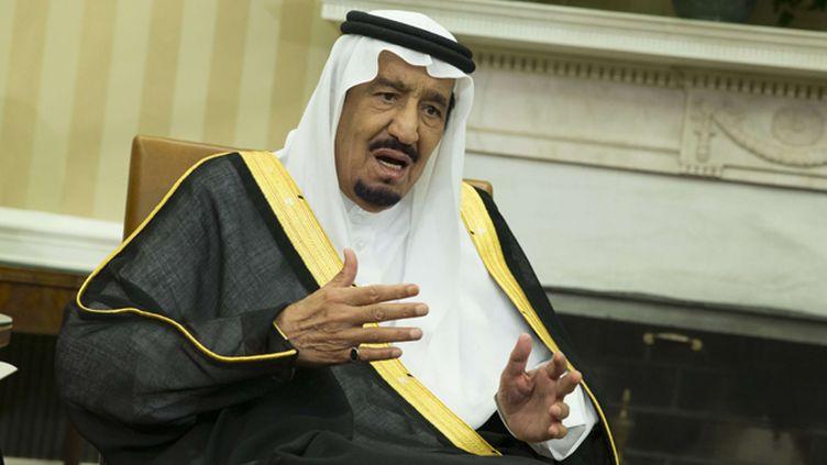 (Le roi Salman lors de sa visite à Washington début septembre 2015 © SIPA - Evan Vucci)