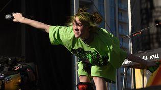 La chanteuse Billie Eilish en concert au iHeart Music Festival (Las Vegas, Etats-Unis), le 21 septembre 2019. (IMAGESPACE/REX/SIPA / SHUTTERSTOCK)
