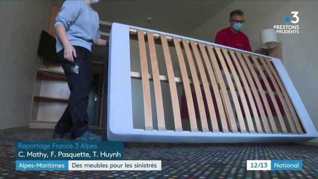 Tempête Alex : un hôtel offre ses meubles à des sinistrés