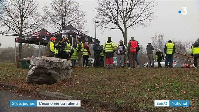 """""""Gilets jaunes"""" : les commerçants se réjouissent de la baisse de la mobilisation"""