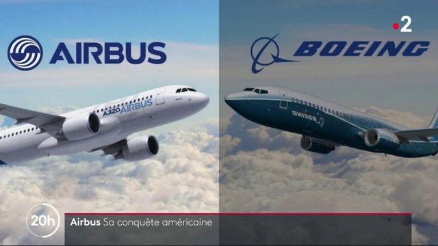 Airbus : l'avionneur européen conquiert le marché américain