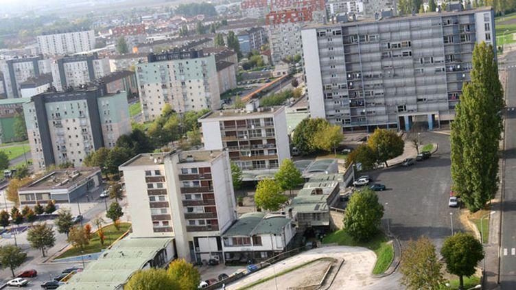 (Le quartier Vert-Bois où vit la soeur du terroriste présumé © MAXPPP)
