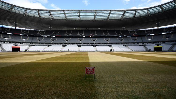 Vue du Stade de France, le 30 avril 2020. (FRANCK FIFE / AFP)