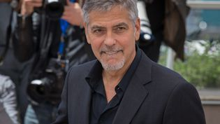 Georges Clooney en mai 2016 au Festival de Cannes. (?CLEMENTINE FAURE/WOSTOK PRESS / MAXPPP)
