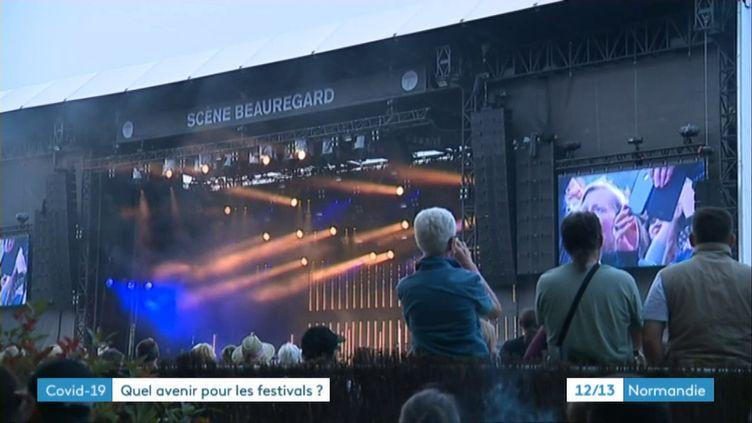 Le festival Beauregard2019 (France3 Normandie)