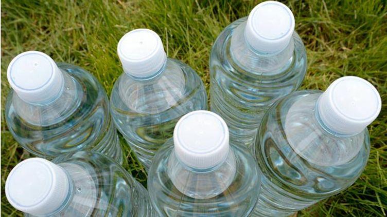 (Les bouteilles d'eau mieux vendues l'année dernière que les bouteilles de colas © maxPPP)