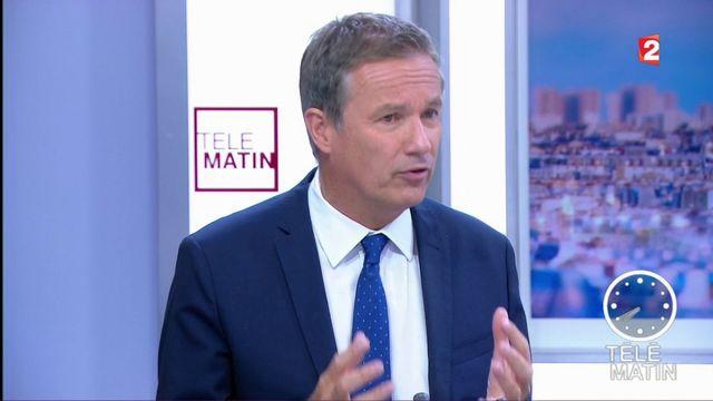 """4 Vérités - Nicolas Dupont-Aignan sur la nationalisation de STX : """"Enfin une bonne décision"""""""