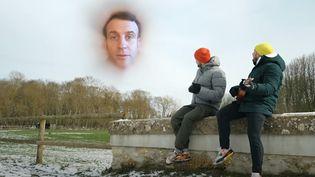 """Capture d'écran du clip """"Je me souviens"""" posté par les youtubeurs McFly & Carlito, en réponse à un défi lancé par Emmanuel Macron. (MCFLY & CARLITO)"""