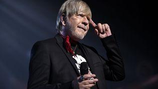 Renaud en concert à Nancy (Meurthe-et-Moselle), le 7 décembre 2016. (MAXPPP)