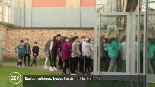 Covid-19 : la France peut-elle vraiment maintenir ses écoles ouvertes ?