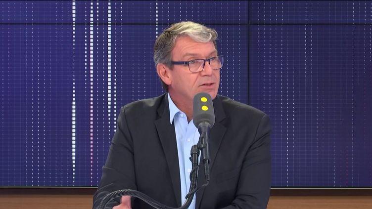 Roger Genet, directeur général de l'Anses, l'Agence nationale de sécurité sanitaire de l'alimentation, de l'environnement et du travail. (FRANCEINFO / RADIO FRANCE)