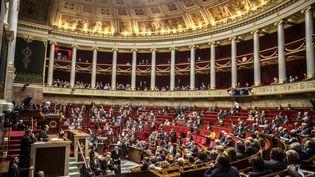 Une séance de questions à l'Assemblée nationale, à Paris, le 11 octobre 2016. (HAMILTON / REA)