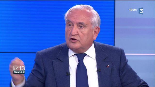 """Jean-Pierre Raffarin : """"j'ai une sorte de compréhension fraternelle avec Juppé"""""""