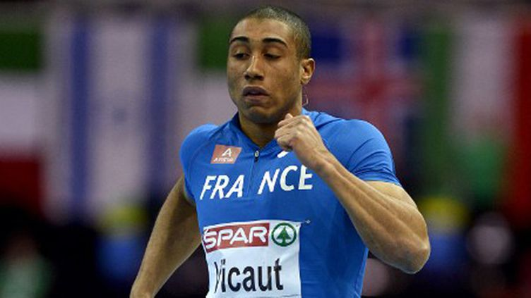 Le sprinteur Jimmy Vicaut