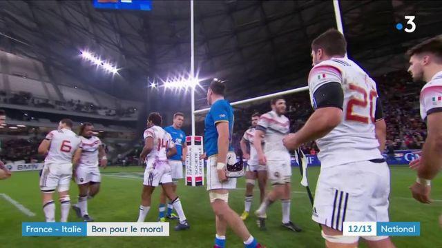 Rugby : le XV de France met fin à près d'une année sans victoire