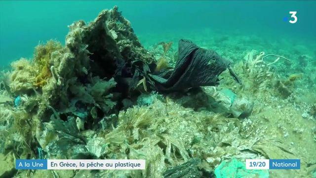 Grèce : la mer envahie par le plastique