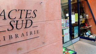 La devanture de la librairie Actes Sud à Arles.  (AFP)