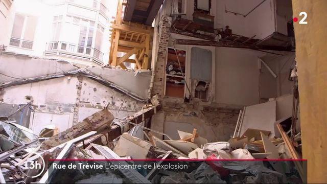 Paris : un an après l'explosion de l'immeuble rue de Trévise