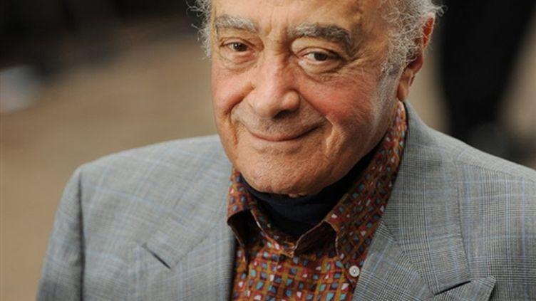 Mohamed Al-Fayed le 17 juin 2009 à Londres (AFP / Ben Stansall)