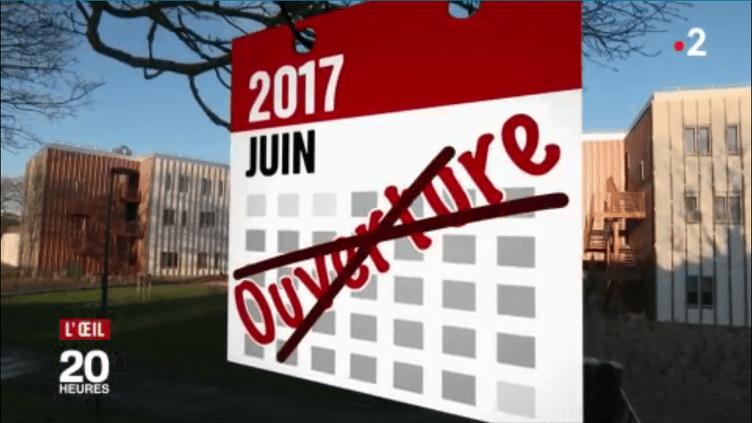 L'ouverture de l'Ehpad de Quévert en juin 2017 ? Un lointain souvenir. (DR)
