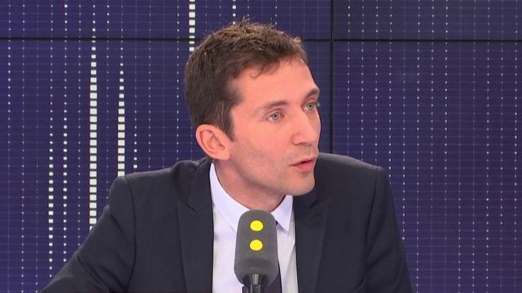 Julien Sanchez, maire FN de Beaucaire et conseiller régional d'Occitanie. (RADIO FRANCE)