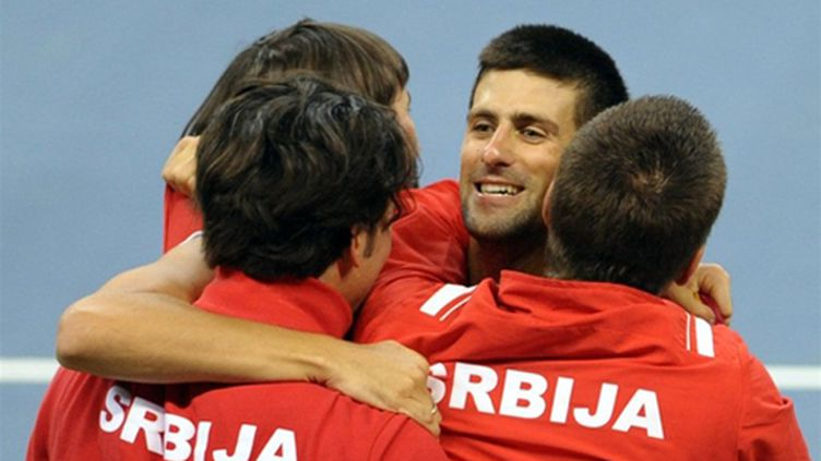 Les Serbes affûtés (ANDREJ ISAKOVIC / AFP)