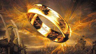 Affiche de la trilogie adaptée du roman de Tolkien par Peter Parker